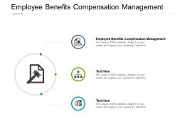 Employee Benefits Compensation Management Ppt Powerpoint Presentation Outline Cpb