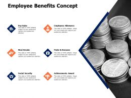Employee Benefits Concept Achievements Award Ppt Powerpoint Presentation Gallery