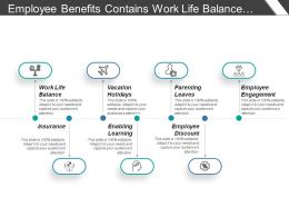 Employee Benefits Contains Work Life Balance Enabling Learning Discounts