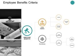 Employee Benefits Criteria Ppt Powerpoint Presentation Summary