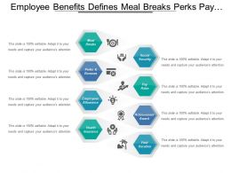 Employee Benefits Defines Meal Breaks Perks Pay Raise And Achievement Awards