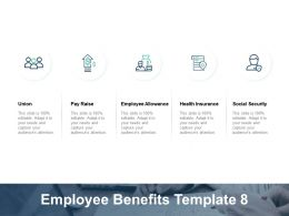 Employee Benefits Employee Allowance Health Insurance Ppt Powerpoint Presentation Gallery File Formats
