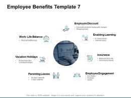 Employee Benefits Employee Discount Insurance Ppt Powerpoint Presentation Gallery Graphic Tips