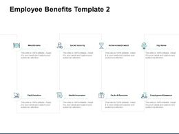 Employee Benefits Employees Allowance Ppt Powerpoint Presentation Gallery Slide Portrait