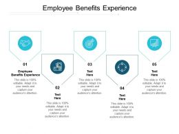 Employee Benefits Experience Ppt Powerpoint Presentation Inspiration Skills Cpb