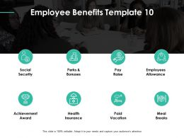 Employee Benefits Health Insurence Ppt Powerpoint Presentation Gallery Good
