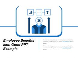Employee Benefits Icon Good Ppt Example
