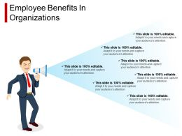 Employee Benefits In Organizations Ppt Design Templates