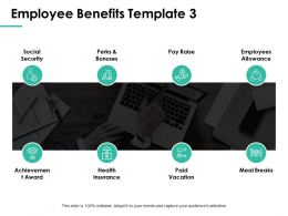 Employee Benefits Pay Raise Ppt Powerpoint Presentation Gallery Template