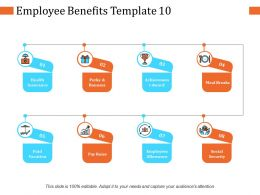 Employee Benefits Ppt Infographic Template Example Introduction