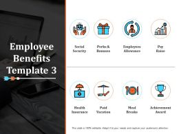 Employee Benefits Ppt Infographic Template Graphics Download