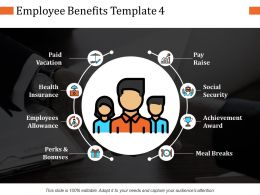 Employee Benefits Ppt Infographic Template Graphics Example
