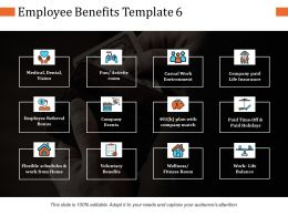 Employee Benefits Ppt Infographic Template Graphics Template