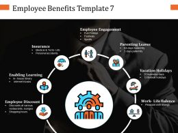 Employee Benefits Ppt Infographic Template Graphics Tutorials