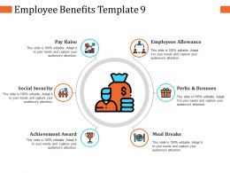 Employee Benefits Ppt Infographic Template Layout Ideas