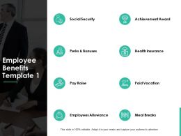 Employee Benefits Ppt Powerpoint Presentation Gallery Samples