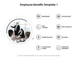 Employee Benefits Ppt Powerpoint Presentation Outline Grid