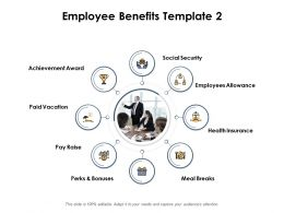 Employee Benefits Ppt Powerpoint Presentation Outline Gridlines