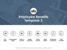 Employee Benefits Ppt Powerpoint Presentation Outline Icons