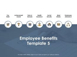 Employee Benefits Ppt Powerpoint Presentation Outline Maker