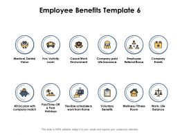 Employee Benefits Ppt Powerpoint Presentation Outline Master Slide