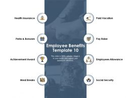 Employee Benefits Ppt Powerpoint Presentation Outline Portrait