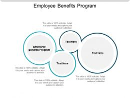 Employee Benefits Program Ppt Powerpoint Presentation Slides Outfit Cpb