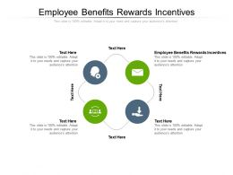 Employee Benefits Rewards Incentives Ppt Powerpoint Presentation Outline Layout Ideas Cpb