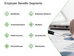 Employee Benefits Segments Social Ppt Powerpoint Presentation Professional Graphic Tips