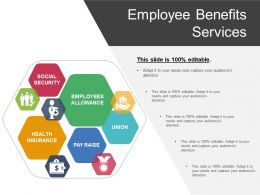 Employee Benefits Services Ppt Example 2017