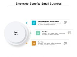 Employee Benefits Small Business Ppt Powerpoint Presentation Gallery Cpb