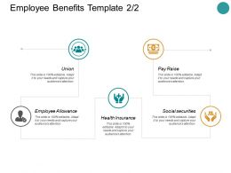Employee Benefits Social Securities Ppt Powerpoint Presentation Summary