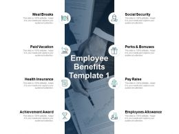 Employee Benefits Social Security Employees Allowance Ppt Powerpoint Presentation Icon Example