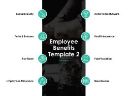 Employee Benefits Social Security Ppt Powerpoint Presentation Gallery Show