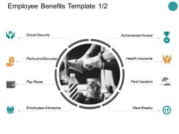 Employee Benefits Social Security Ppt Powerpoint Presentation Visual Aids
