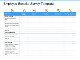 Employee Benefits Survey Financial Ppt Powerpoint Presentation Example Topics