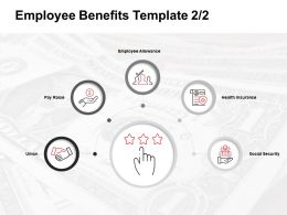 Employee Benefits Template Employee Allowance Ppt Powerpoint Presentation Slides