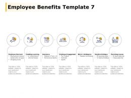 Employee Benefits Template Employee Engagement Employee Discount Ppt Powerpoint Presentation File Sample