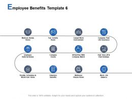 Employee Benefits Template Employee Referral Bonus Voluntary Benefits Ppt Powerpoint Presentation Styles Model