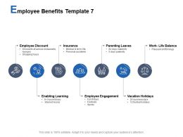 Employee Benefits Template Parenting Leaves Employee Engagement Ppt Powerpoint Presentation Summary Files