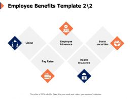 Employee Benefits Template Securities Ppt Powerpoint Presentation Icon Guide