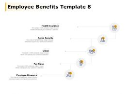 Employee Benefits Template Social Security Employee Allowance Ppt Powerpoint Presentation File