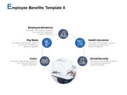 Employee Benefits Template Social Security Union Ppt Powerpoint Presentation Summary Good