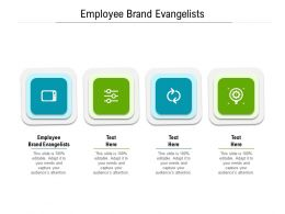 Employee Brand Evangelists Ppt Powerpoint Presentation Pictures Aids Cpb