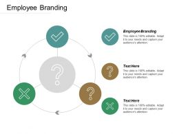 Employee Branding Ppt Powerpoint Presentation Icon Visual Aids Cpb