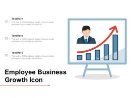 Employee Business Growth Icon