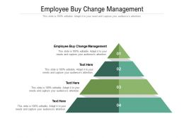 Employee Buy Change Management Ppt Powerpoint Presentation Gallery Inspiration Cpb