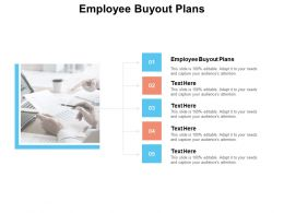 Employee Buyout Plans Ppt Powerpoint Presentation Professional Files Cpb