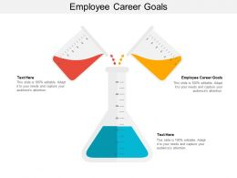 Employee Career Goals Ppt Powerpoint Presentation Background Image Cpb