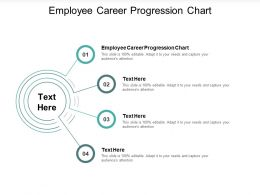 Employee Career Progression Chart Ppt Powerpoint Presentation Infographic Template Visual Aids Cpb